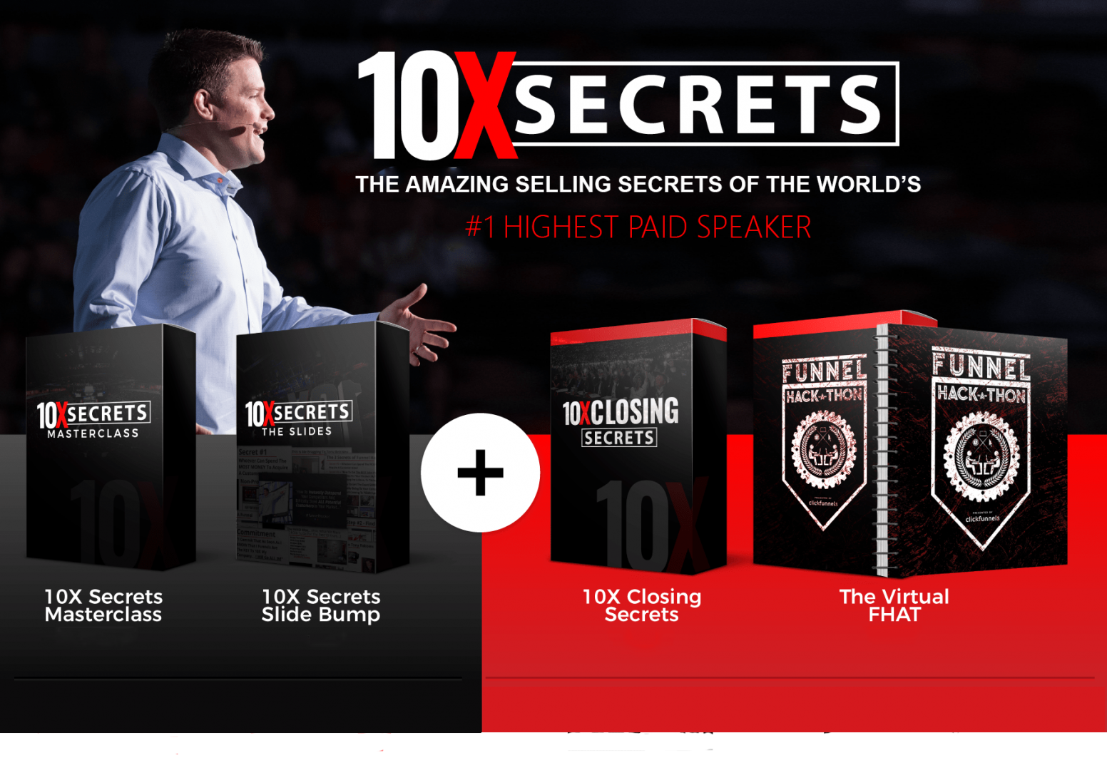 Russell brunson 10x secrets cover