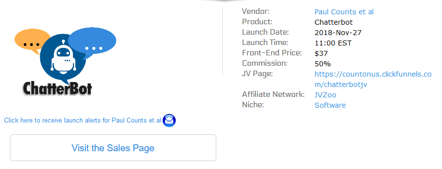 affiliate product launch - funnel secrets
