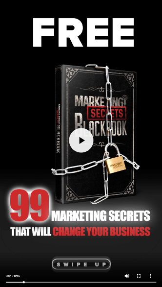 marketing secrets blackbook banner