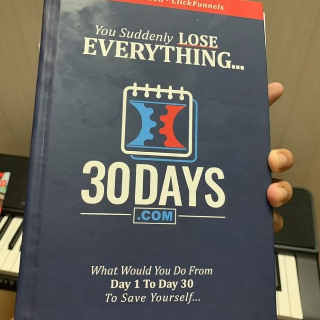 30 days book russell brunson review