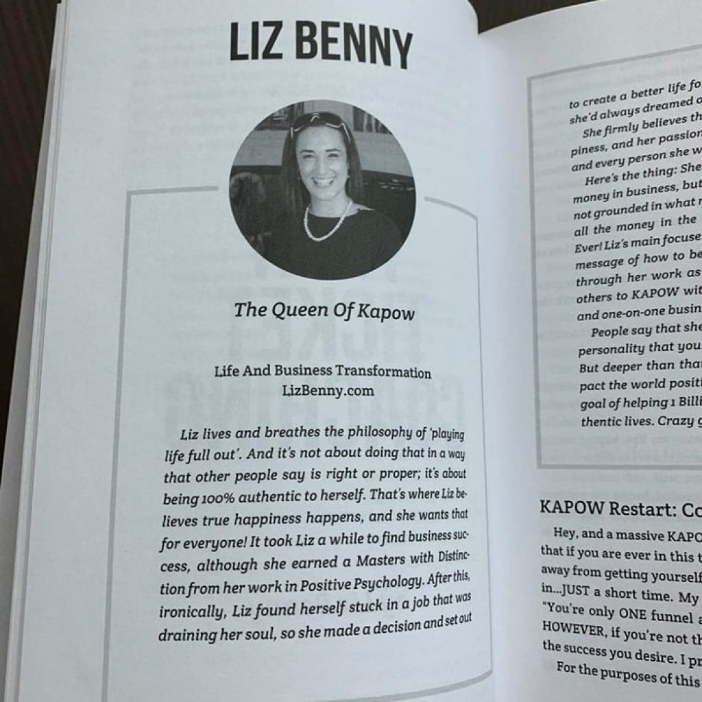 30 days summit book liz benny