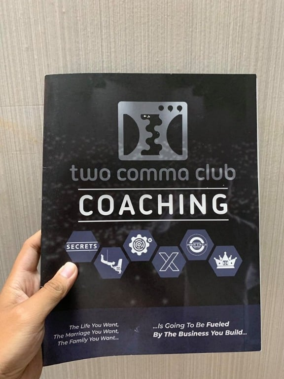 one funnel away - two comma club coaching