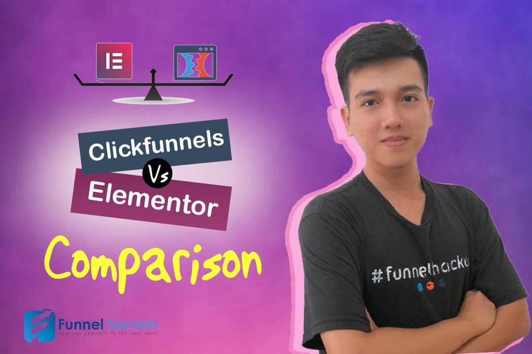 Clickfunnels Vs Elementor Comparison chart 2019