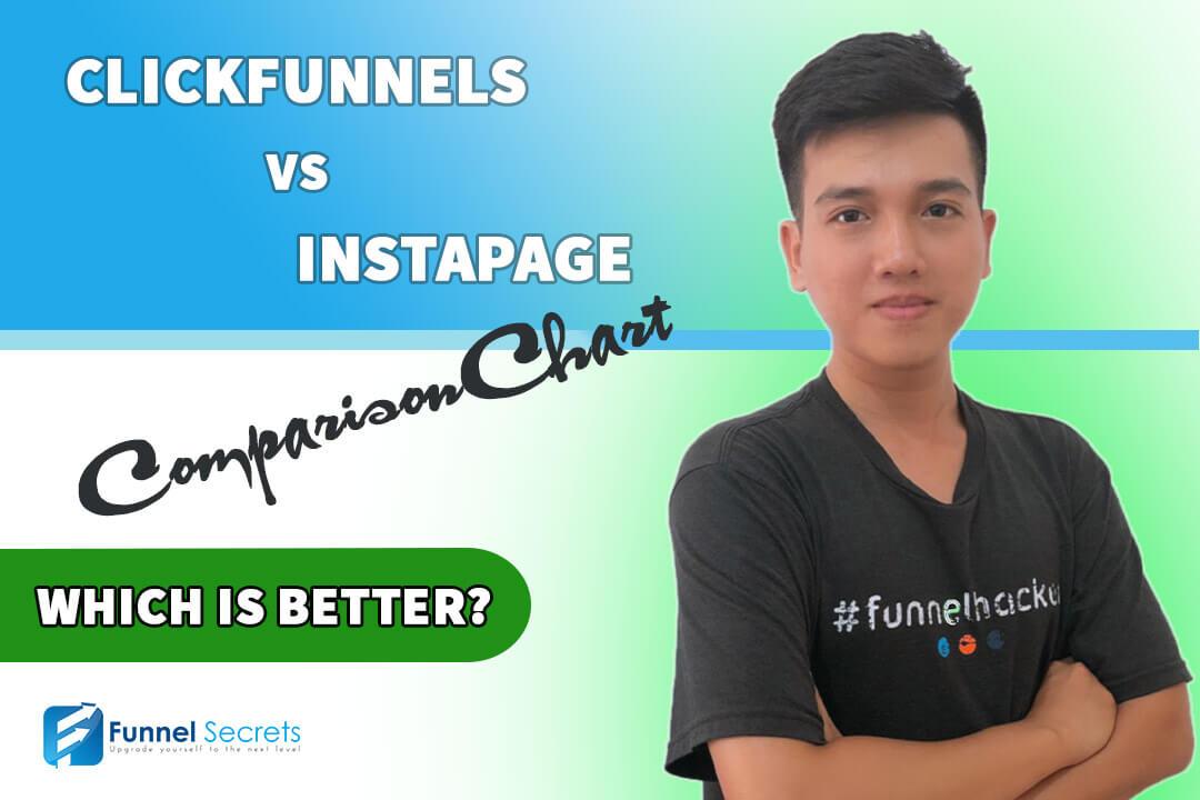 Clickfunnels vs instapage comparison chart