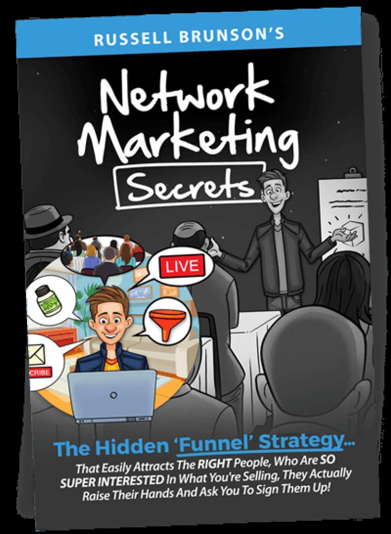 Network Marketing Secrets Book Russell Brunson
