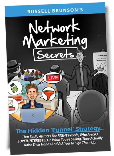 Network Marketing Secrets Book Russell Brunson