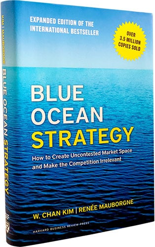 blue ocean strategy - sales funnel book