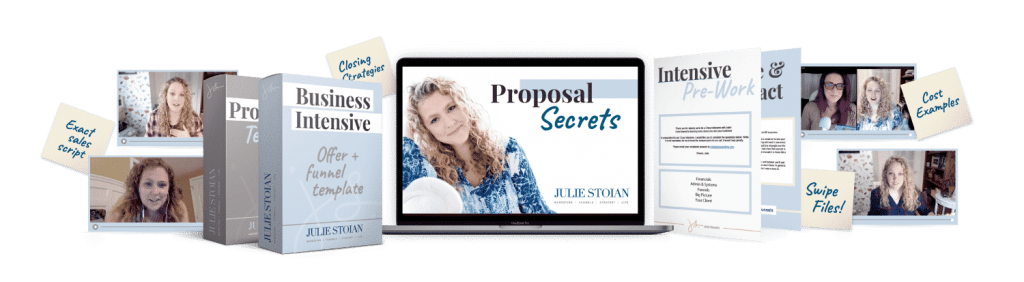 create your laptop life - proposal Secrets
