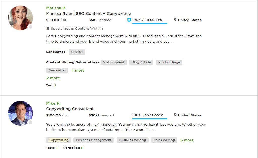 upwork-copywriting-service