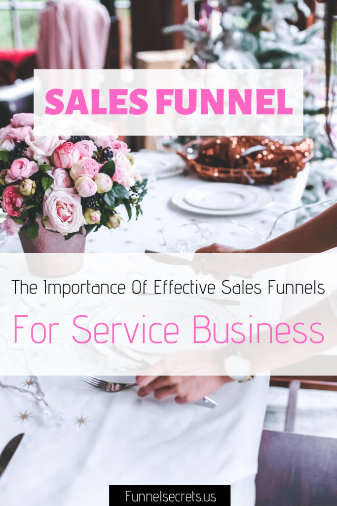 Sales Funnels For Service Business