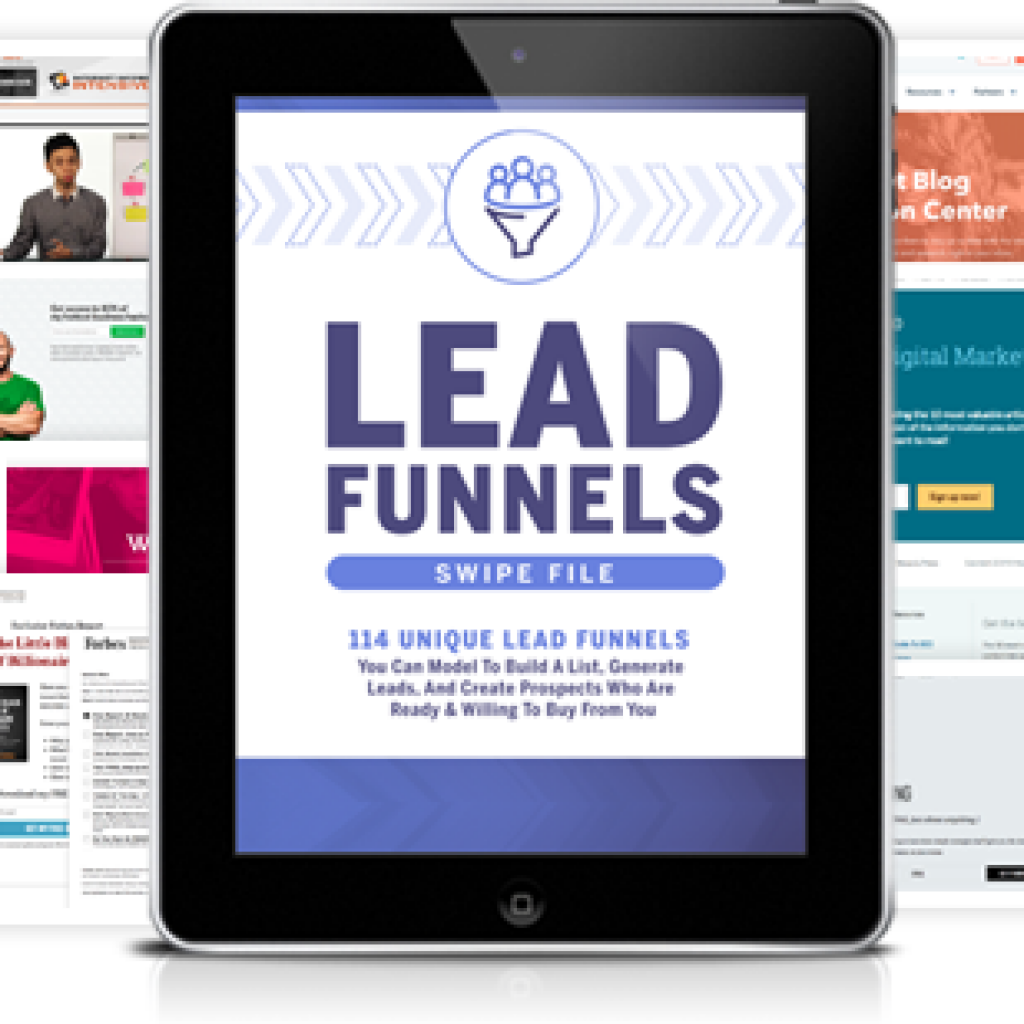 Lead funnels swipe file russell brunson