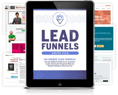 Lead funnels review: Russell Brunson swipe file