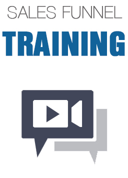 sales funnel training icon