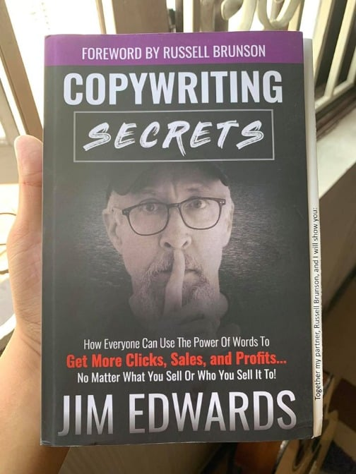Copywriting secrets book - Jim Edwards