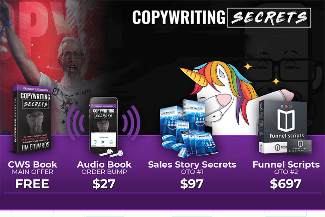 The Copywiting Secrets book review jim Edwards