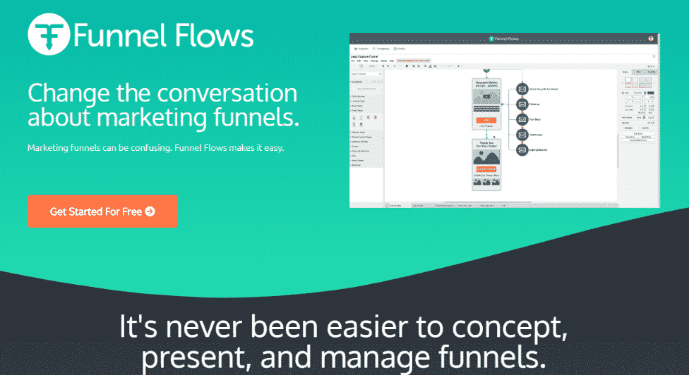 Funnel flow - funnel visually tool