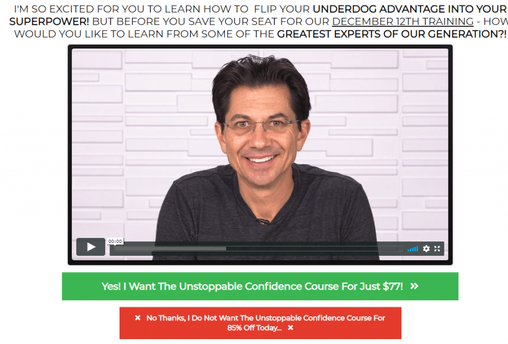 The Unstoppable Confidence Course