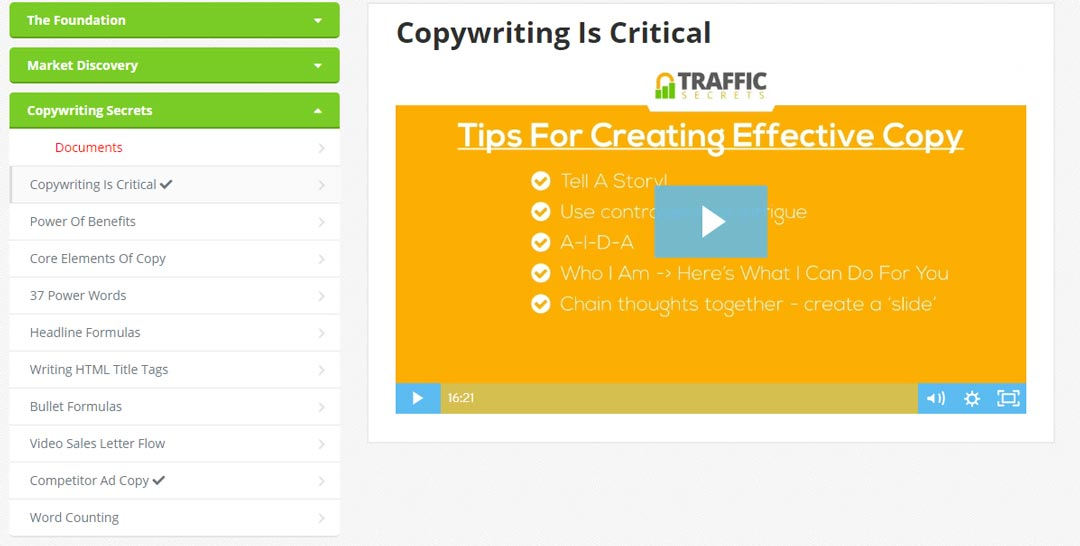 traffic-secrets-module-3-copywriting-secrets