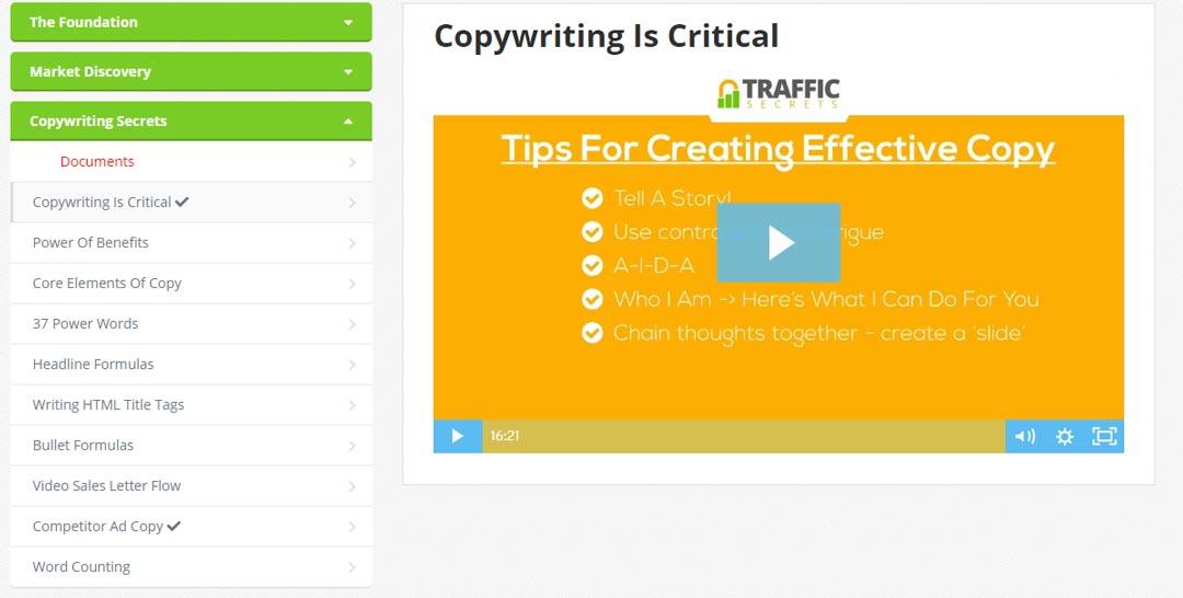 traffic-secrets-module-3-copywriting-secrets