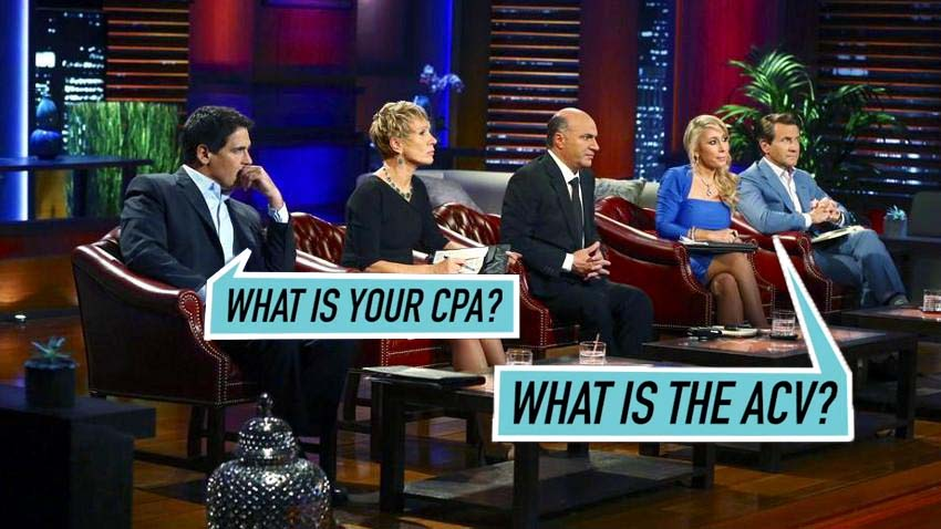 what is CPA and ACV - shark tank