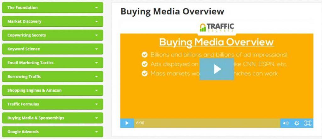 traffic secrets module 9 Buying Media and Sponsorships