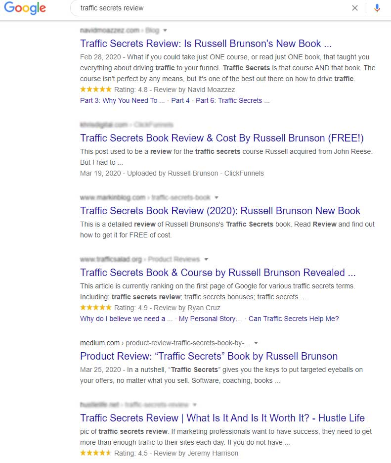 traffic-secrets-review-google-search