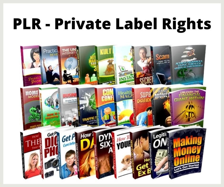 PLR private label rights