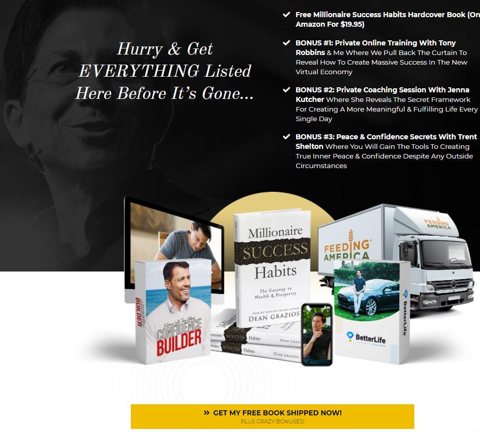Offer-examples-Dean-Graziosi-Milionaire-Success-Habits-book