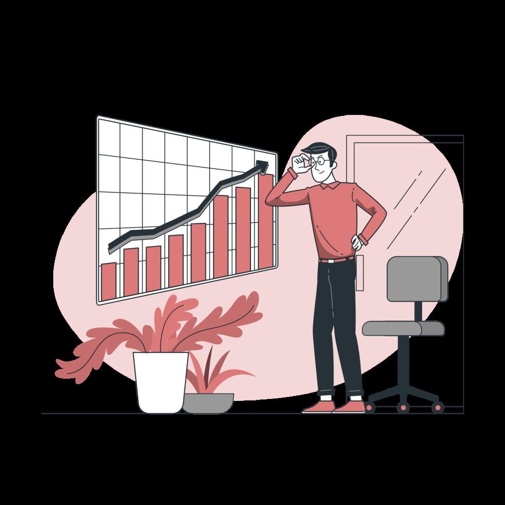 sales funnel optimization icon