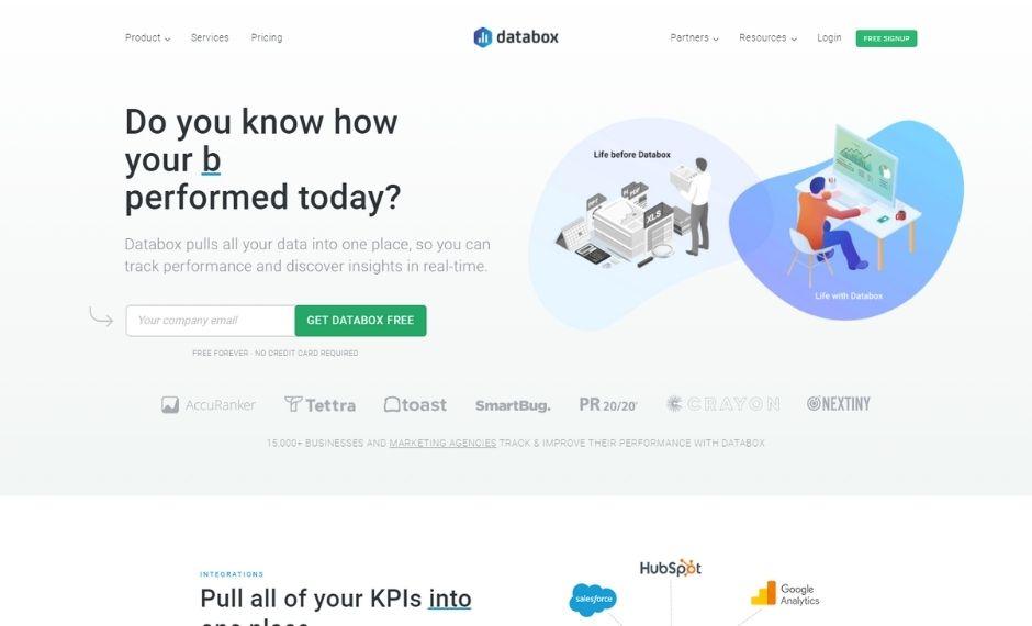 databox- lead-generation-website-examples