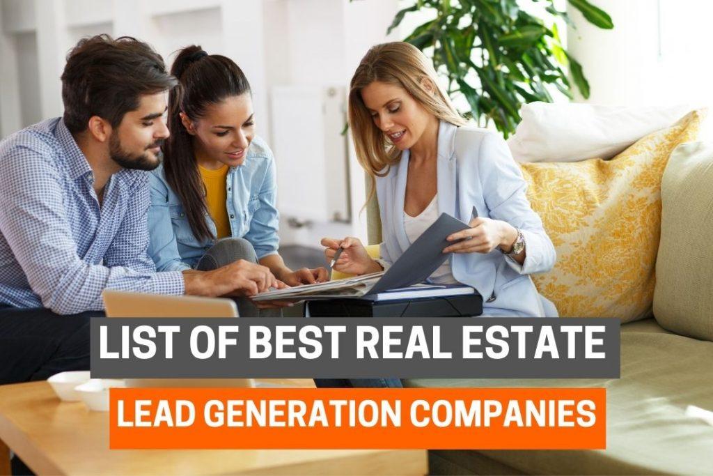 Best Real Estate Lead Generation Companies
