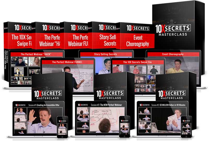 Clickfunnels training course: 10x secrets