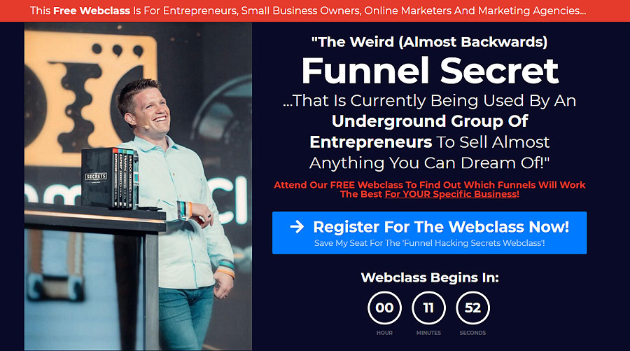 Clickfunnels training course: funnel builder secrets