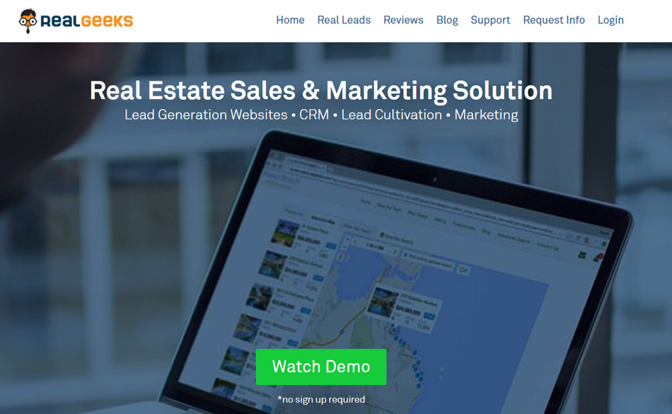 Real Estate Lead Generation Companies Real geeks