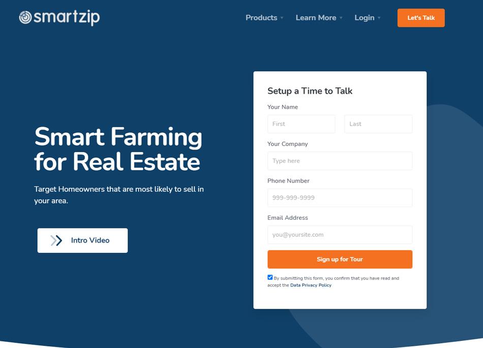 Real Estate Lead Generation Companies Smartzip