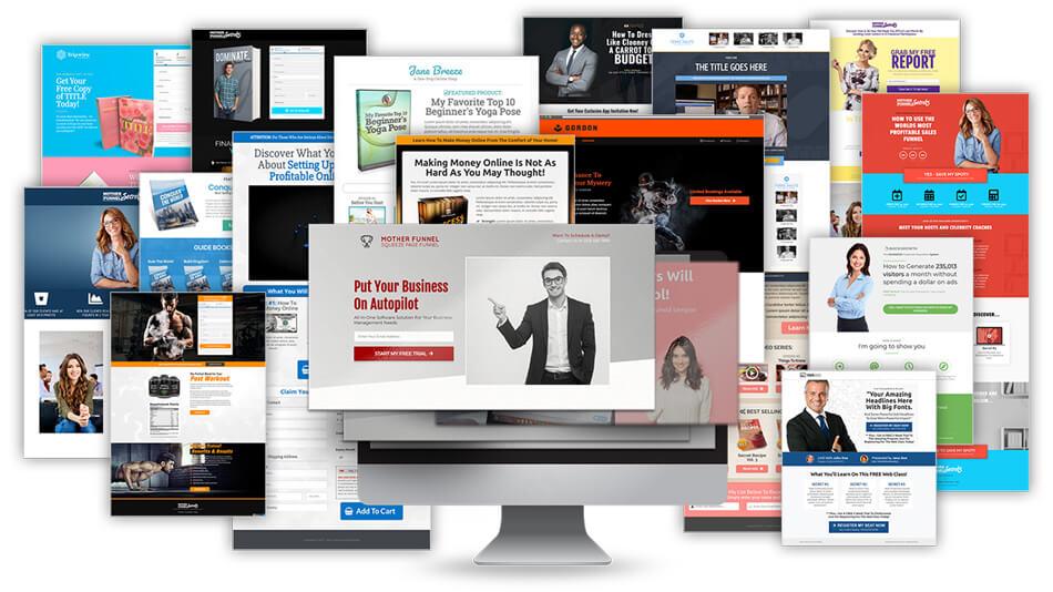 Clickfunnels premium template design