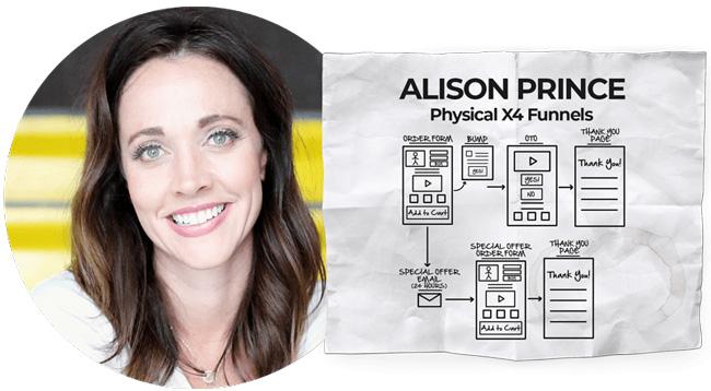 Alison Prince Dotcom Secrets summit
