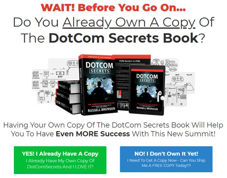 Dotcom secrets summit upsell 1