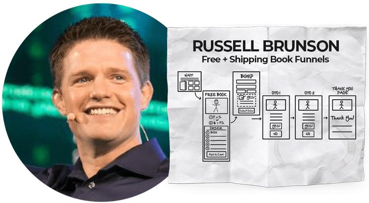 Russell Brunson in Dotcom Secrets summit