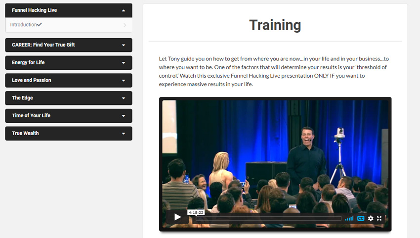 Tony Robbins Private Collection - Funnelflix