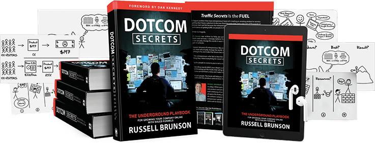 Dotcom Secrets mockup