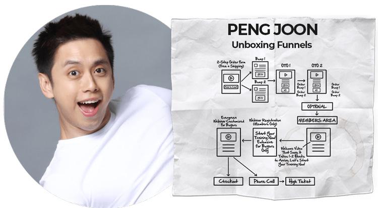 peng joon dotcom secrets event