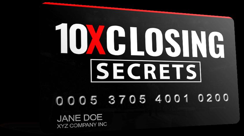 10x closing course