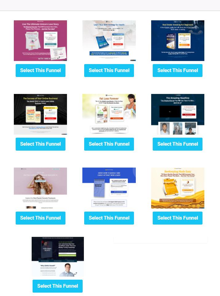 Funnel hacking secrets masterclass sales funnel templates