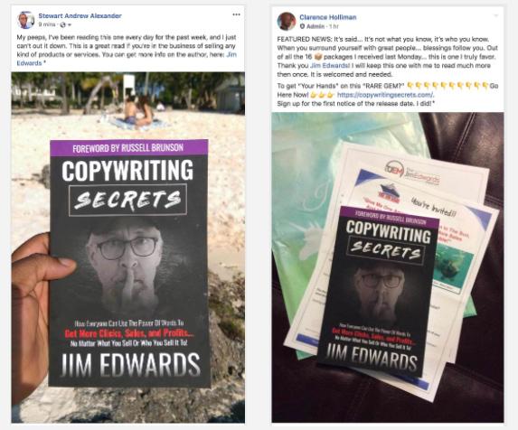 Copywriting secrets book social proof