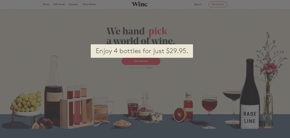 Winc offer