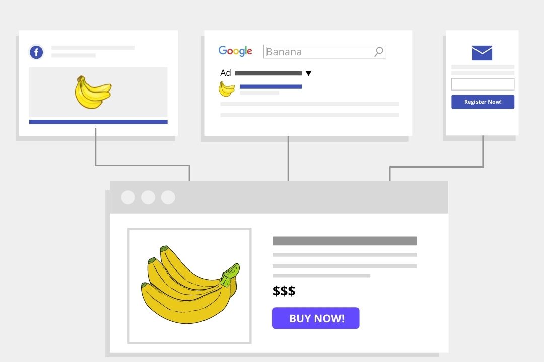 landing page content