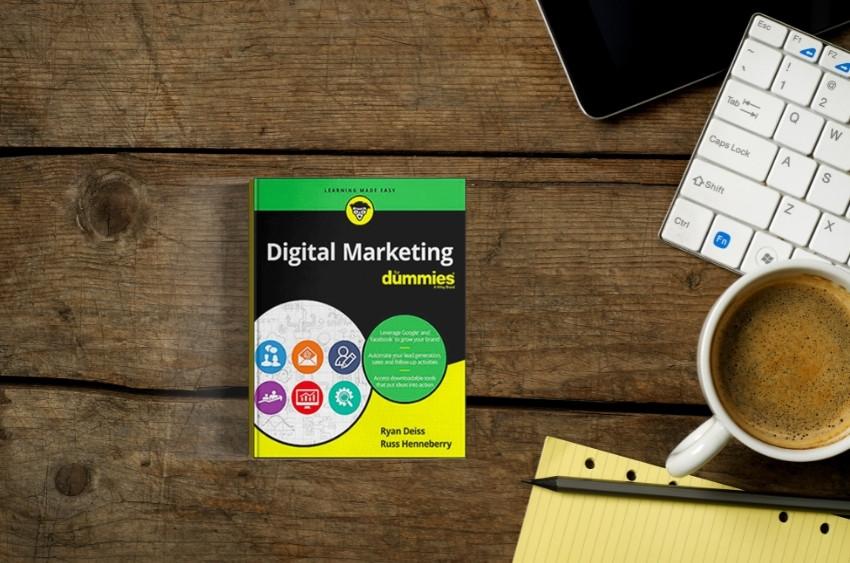 Digital Marketing for Dummies book