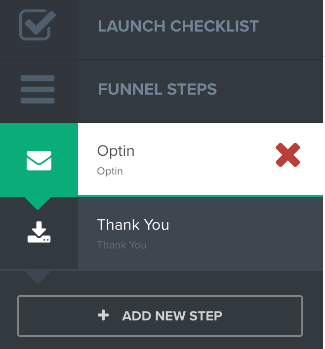 How to delete funnel step in Clickfunnels