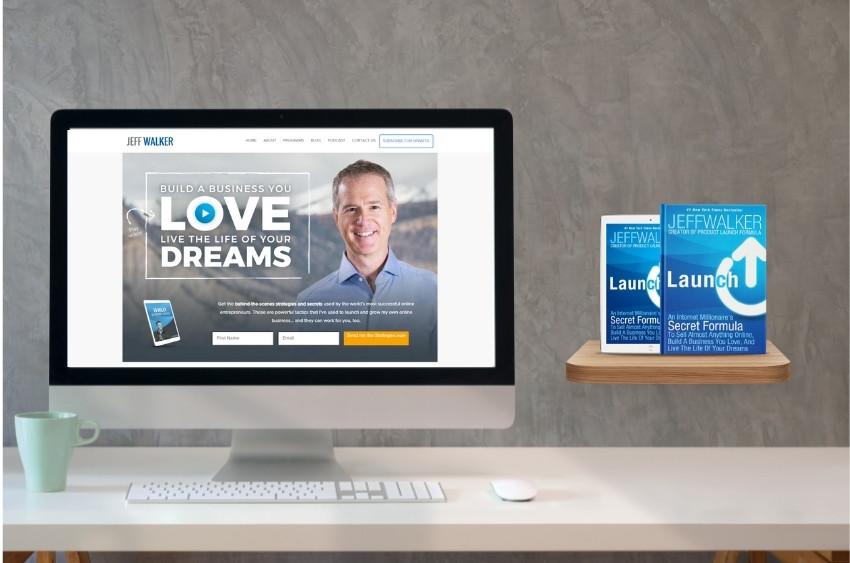 Launch Jeff Walker - book on digital marketing
